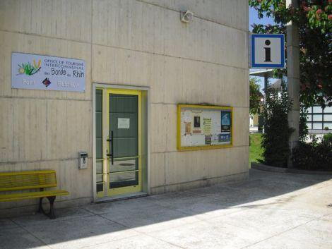 Point infos tourisme de Biesheim