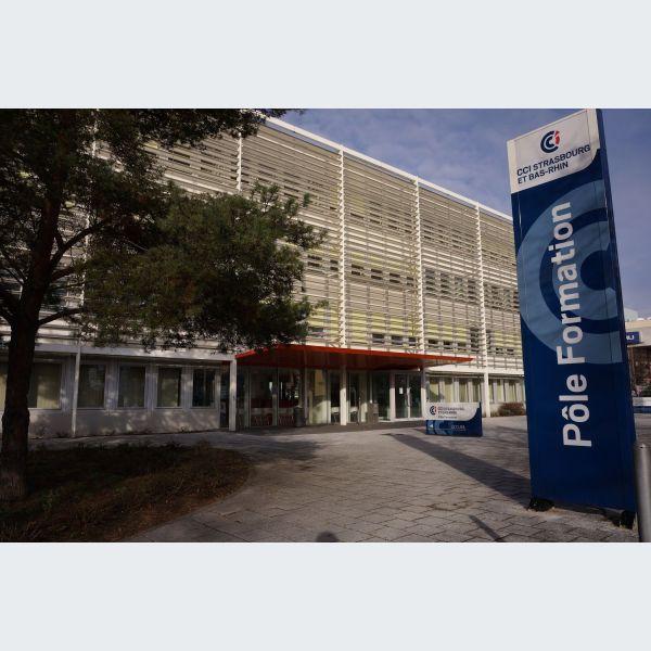 P le formation de la cci de strasbourg emploi et for Chambre de commerce strasbourg
