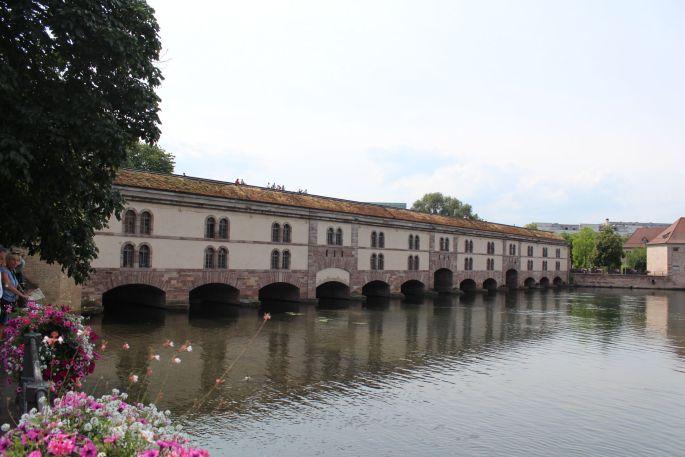 Le pont couvert à Strasbourg