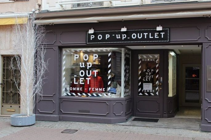 Pop-up Outlet