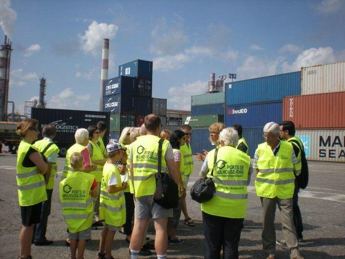 Une visite guidée du Port d\'Ottmarsheim