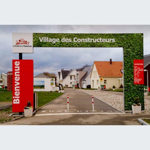 Portes ouvertes au village des constructeurs lutterbach for Porte ouverte constructeur
