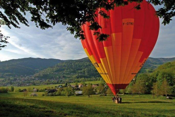 Vous ferez peut-être parti des chanceux à faire un tour en montgolfière ?