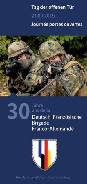 Portes ouvertes de la Brigade franco-allemande