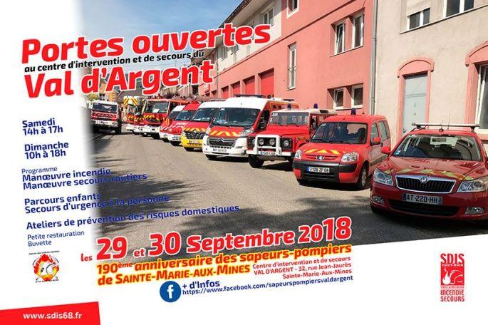 Portes-ouvertes des Sapeurs-Pompiers du Val d\'Argent