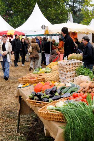 Produits de la ferme, issus de l\'agriculture bio alsacienne sont à découvrir à Obernai à l\'occasion de BiObernai chaque année à la mi septembre