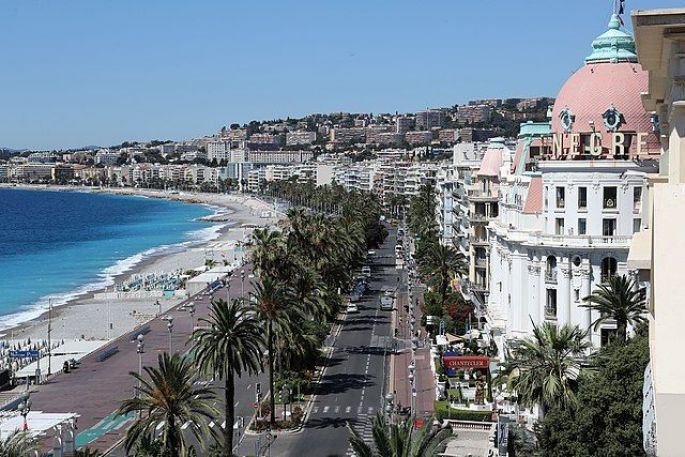 Promenade des Anglais de Nice