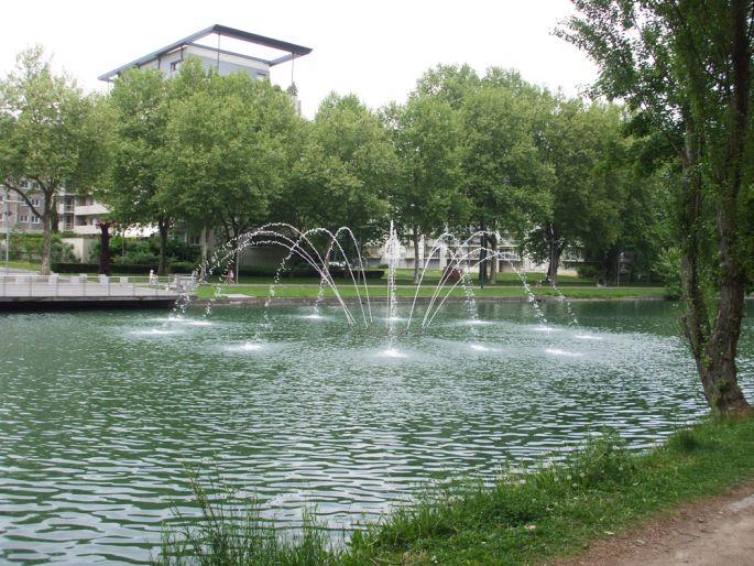<p>Le Nouveau Bassin, une promenade rafra&icirc;chissante &agrave; Mulhouse</p>