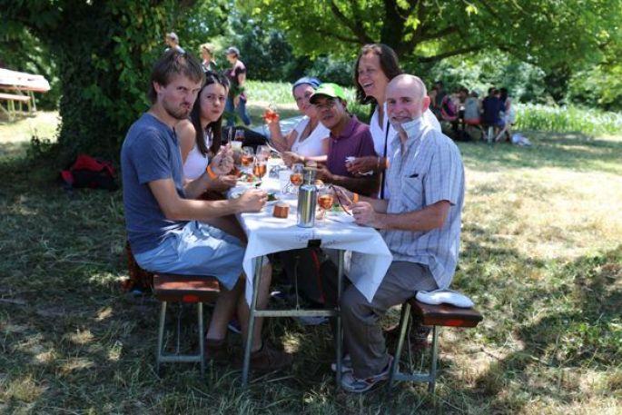 Les dégustations vont bon train pour la Promenade Gastronomique de Blotzheim !