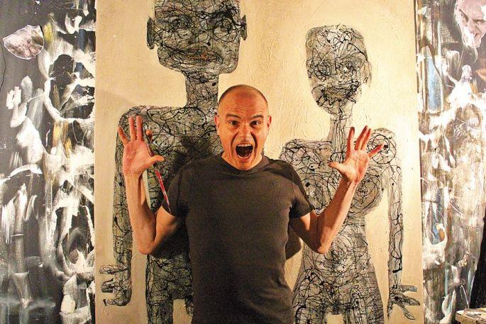 Przybylski: l'art comme défouloir