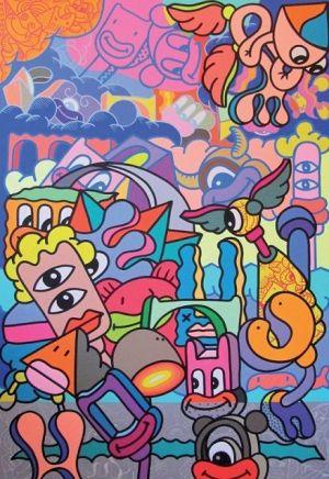 Punk Art avec Hank China