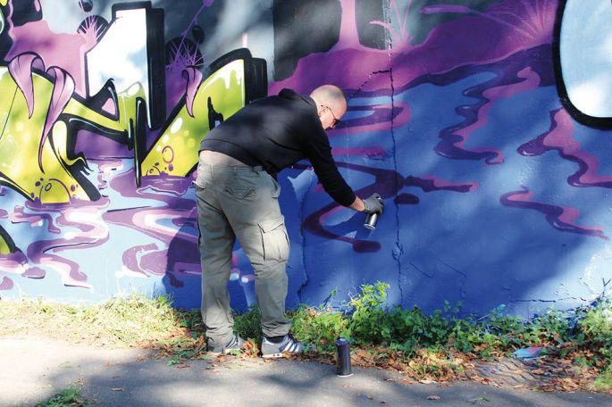 Des graffitis en tous genre