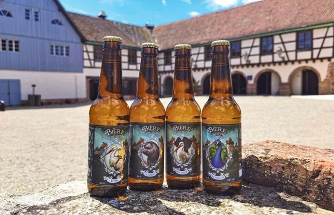 Les 4 bières made in Ecomusée d\'Alsace!