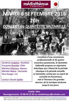 Quintette Saltarelle