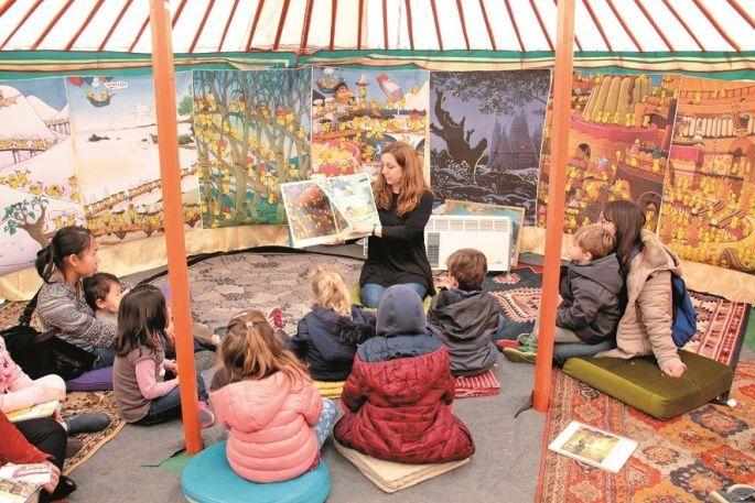 Des contes pour les petits au Festival Ramdam