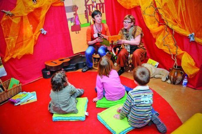 Avec Ramdam, on découvre les joies de la lecture, dès le plus jeune âge