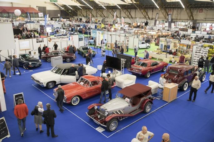 Le Salon Auto Moto Rétro à Dijon et ses véhicules anciens présentés au public