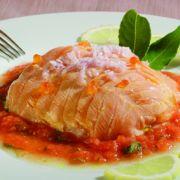 Recette facile du saumon aux échalotes