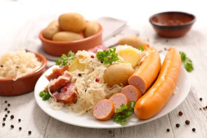 Recette pratique de la Choucroute d\'Alsace