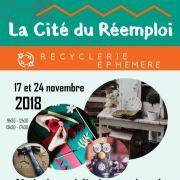 Recyclerie éphémère - Vente et ateliers