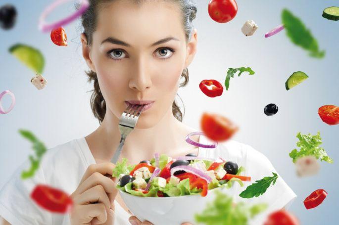 Pour mincir, on met plus de légumes dans son assiette et on réduit la part des féculents