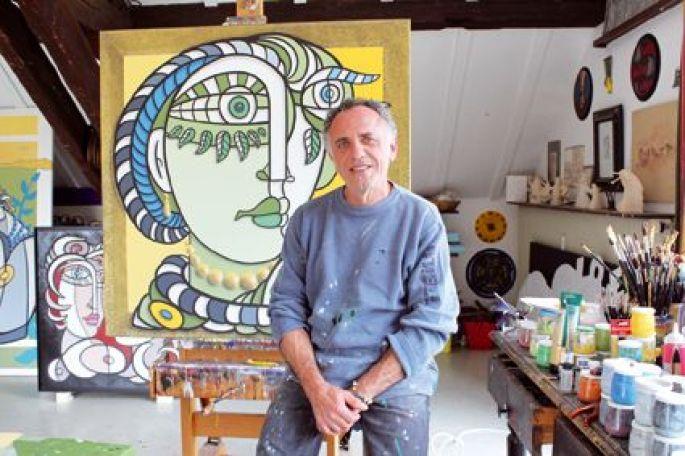 Renato Montanaro et sa nouvelle série de Portrait au trait