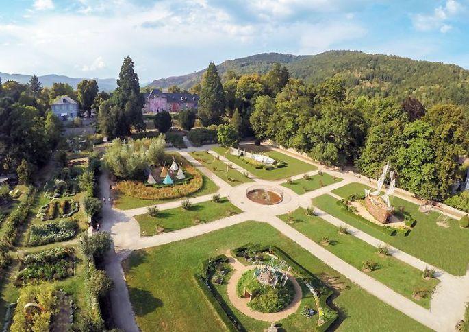 Les Jardins du Parc de Wesserling, qui participent régulièrement aux\