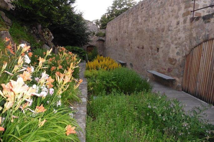 Le jardin du Hohlandsbourg