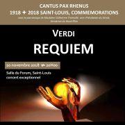 Requiem de Verdi - Cantus Pax Rhenus