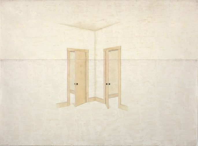 Toba Khedoori, Untitled (doors), 1999,