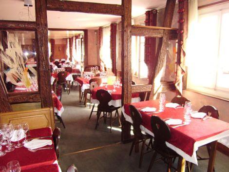 Restaurant à l\'auberge du Cerf
