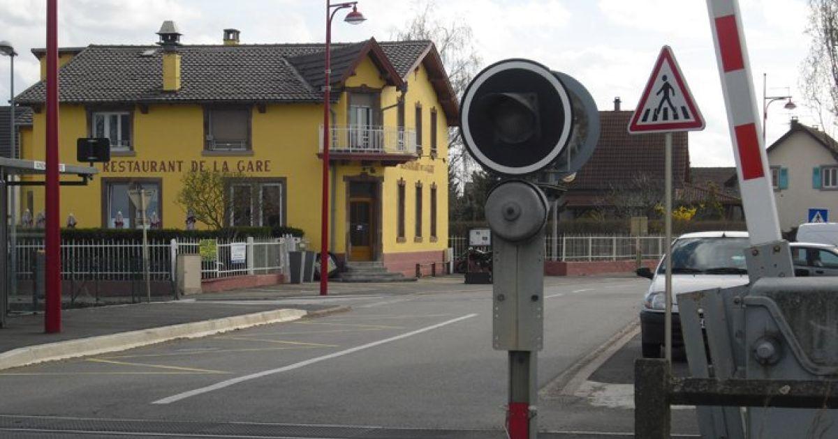 Restaurant de la gare ferm sundhoffen restaurant - Restaurant la table de l ill illkirch ...