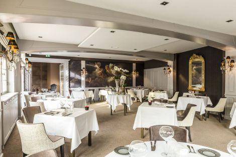 La salle du restaurant chez Julien Binz