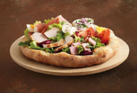 Photo de la salade fermière à la Tablapizza.