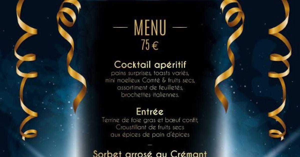 Nouvel An Colmar  Menu Des Restaurants