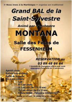R veillon de la saint sylvestre 2016 2017 fessenheim - Idee buffet reveillon nouvel an ...