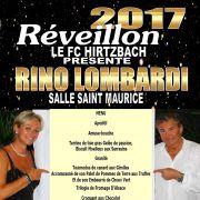 Réveillon de la Saint Sylvestre 2017-2018 à Hirtzbach - Salle Saint-Maurice
