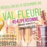 Réveillon du Nouvel an 2018-2019 à Liverdun - Domaine du Val Fleuri