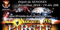 reveillon du nouvel an 2018-2019 a senones - nouvel an pirate