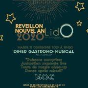 Réveillon du Nouvel an 2019-2020 à Gérardmer - Le Lido