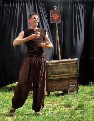 Pétrus la Ruse est l\'un des spectacles présentés chaque jour