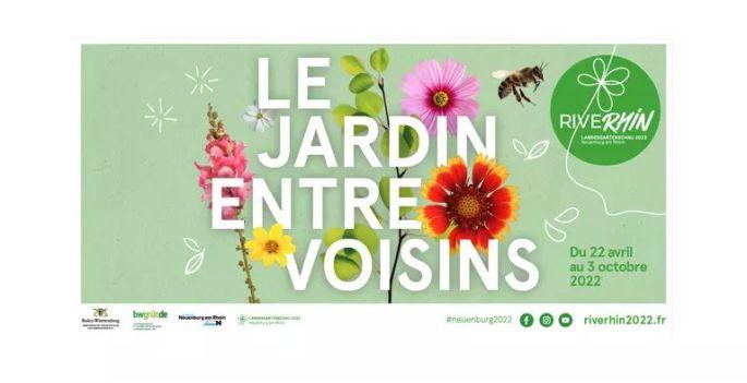 Rive Rhin  - Le Jardin entre Voisins