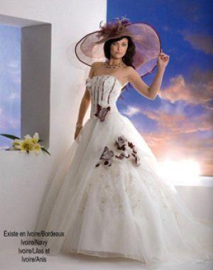 Robe de mariée en vente chez Geneviève Avril à Cernay