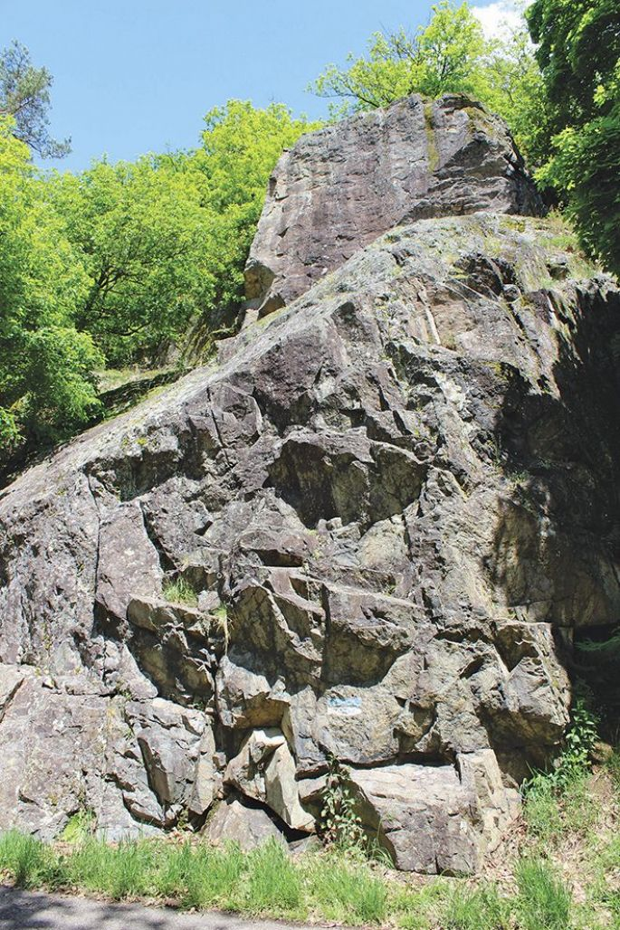 Rocher du Rosenbourg escalade