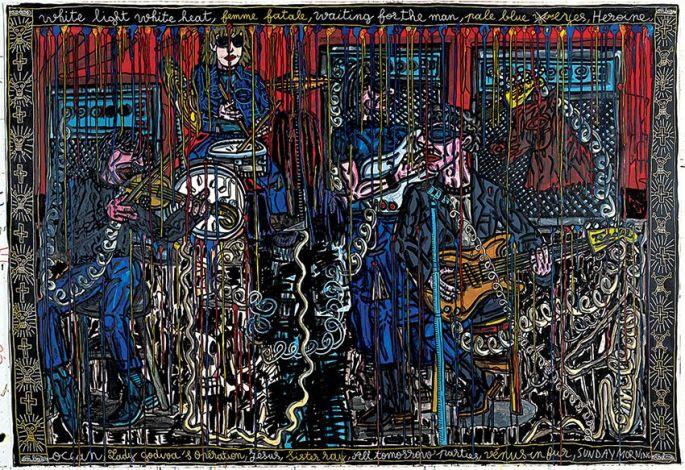 Le Velvet Underground, vu par Robert Combas