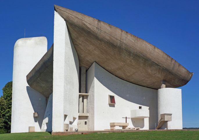 Ronchamps, la chapelle culte