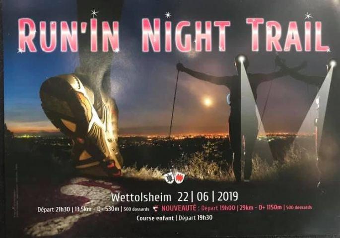 Run\'In Night Trail 2019