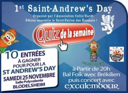 Saint-Andrew's Day