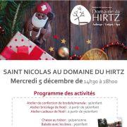 Saint Nicolas au Domaine du Hirtz