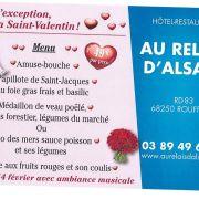Saint-Valentin 2018 au Relais d\'Alsace - Rouffach